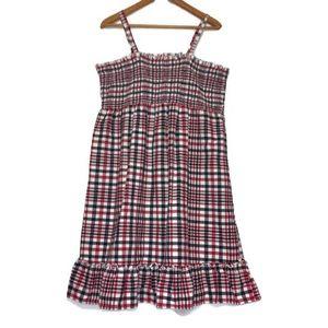 Faded Glory 4th of July Dress 100% Organic Cotton